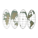 Wide Globe ウォールデコ L