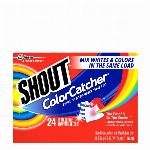 ◆洗濯中の色移りなし!◆シャウト カラーキャッチャー