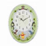 くまのプーさんM523 掛時計