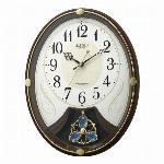 電波アミュージング時計 スモールワールフォリリイN(アイボリ)