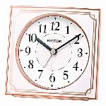 電波目覚時計 フィットウェーブA437 ゴールド