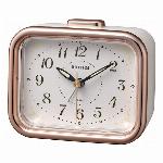 電波目覚時計 フィットウェーブA437 ピンク