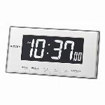 マンスリーカレンダー表示電波時計 フィットウェーブカレンダーD205