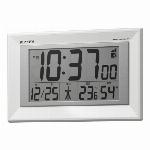 掛置兼用デジタル電波時計 フィットウェーブD204