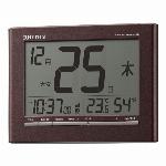 デジタル電波目覚まし時計 フィットウェーブバンプーD212