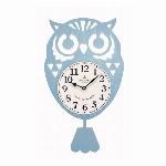 フクロウ振り子時計 BL