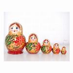 ミニ・カラフルロシヤーノチカ 3個組 色アソート