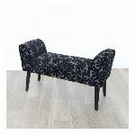 スツールベンチ 椅子 花柄