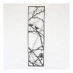 【直送可】ウォールアートパネル 壁掛け 壁飾り 鳥