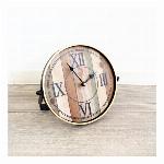 【直送可】ノベルティーにも最適! 北欧 ナチュラル カントリー 置時計