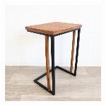 【直送可】北欧 ナチュラル カントリー調 サイドテーブル ランプテーブル