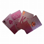 PLAYING CARDS PINK SLW147