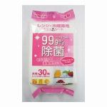レンジ・冷蔵庫用ウェットシート30枚入  W-002