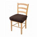 撥水加工のびのび椅子カバー ブラウン