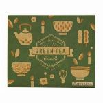 丸叶むらたのろうそく【GREEN TEA 緑茶キャンドル  56本入】  GT-03