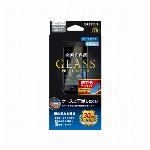 iPhone SE (第2世代)/8/7/6s/6 ガラスフィルム「GLASS PREMIUM FILM」 全画面保護 ケースに干渉しにくい ブルーライトカット ブラック LP-I9FGFBBK