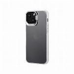 iPhone 13 mini スタンド付耐衝撃ハイブリッドケース「SHELL STAND」 フロストホワイト LP-IS21SHSWH