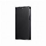 iPhone 13 mini 薄型PUレザーフラップケース「PRIME」 ブラック LP-IS21PRIBK