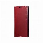 iPhone 13 mini 薄型PUレザーフラップケース「PRIME」 レッド LP-IS21PRIRD