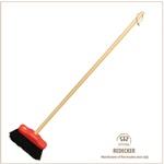 [REDECKER/レデッカー]赤いヘッドのミニデッキブラシ(馬毛)Lサイズ