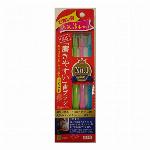 国産 磨きやすい歯ブラシ 先細毛 コンパクト3本組