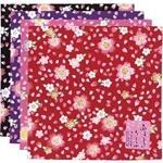 風呂敷 蝶桜/桃・紫・赤
