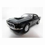 ウィリー 1/32 フォード 1969 Ford Mustang Boss 429 ブラック ダイキャストカー Diecast Model ミニカー@999円