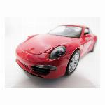 ウィリー 1/32 ポルシェ Porsche 911 Carrera S レッド ダイキャストカー Diecast Model ミニカー @999円