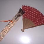 オリジナル扇子とケース