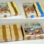【terai】折り紙手芸用ハートペーパーレギュラーサイズ5X9色500枚単位
