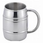 TJ-35 真空二重 樽缶ジョッキ350ml用 69-01801