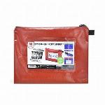 マグエックス 耐水メールバッグA4(赤) MPO-A4R