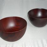 木製汁椀 (はつり汁椀)