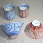 茶碗・湯呑 (ほたる・有田焼)