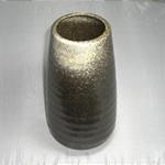 花瓶 (白流片口/美濃焼・緑・大)