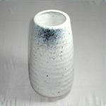 花瓶 (吹き筒/美濃焼・茶・大)