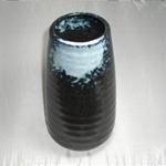 花瓶 (吹き筒/美濃焼・白・大)