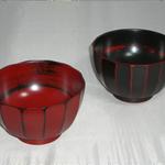 木製汁椀 (スリ千筋汁椀)