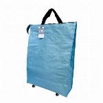 水濡れに強く丈夫なPPクロス使用 ラミクロスバッグ Lサイズ (キャスター付き)