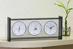 【日本製、高品質高精度】スーパーEXギャラリー気象計・時計