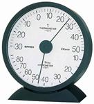 シンプルでスタンダードなロングセラー。エクレール温・湿度計。