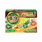 アース製薬温泡 ONPO とろり炭酸湯ぜいたく柑橘柚子12錠