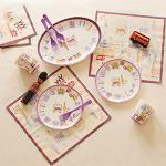 メラミン食器 ロンドンイラストマップシリーズ