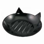 石鹸トレイ 黒猫