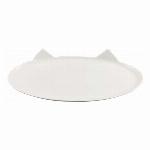 洗面プレート 白猫