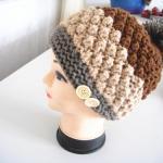 手編みニット帽子ーーファッション雑貨