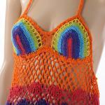★新着!★  ニット編みキャミドレス rainbow