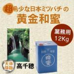 プロ必見/業務用/食品原料/非加熱/野生日本みつばちの蜂蜜/宮崎県産12kg