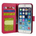 iPhone 6 4.7インチ レザーケース 合皮 ピンク