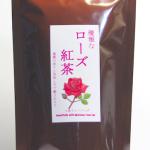 優雅な ローズ紅茶